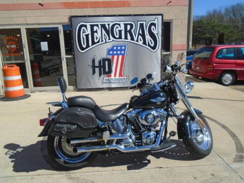 Pre-Owned 2012 Harley-Davidson FLSTF - Softail Fat Boy
